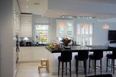 The 1909 Kitchens range is a modern twist on a traditional British kitchen. See our stunning collection of kitchen styles now or visit our kitchen showroom today Traditional British Kitchens, Kitchen Showroom, Luxury, Frame, Modern, Table, Furniture, Home Decor, Picture Frame