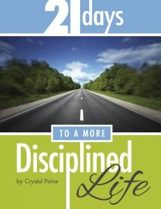 Exclusive gift for Home Storage Solutions 101 readers: FREE copy of Money Saving Mom's ebook: 21 Days to a More Disciplined Life