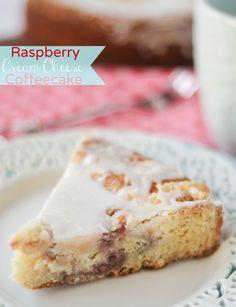 Raspberry Cream Cheese Coffeecake - confessionsofacookbookqueen.com