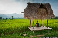 Pai, Thailand - If you uprooted the hippie neighborhoods of San Francisco and plopped them into the jungles of northern Thailand, you'd (roughly) end up wit. Thailand Travel, Asia Travel, Travel Plane, Thailand Adventure, Adventure Travel, Best Places To Travel, Places To See, Mergui Archipelago, Wanderlust
