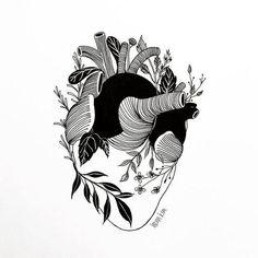 Henn Kim é uma ilustradora que cria imagens conceituais, minimalistas e repletas de significado, que envolvem ácidas críticas à sociedade contemporânea.