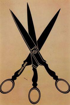 Japanese Poster: Environmental Waste. Shigeo Fukuda. 1973 - Gurafiku: Japanese Graphic Design