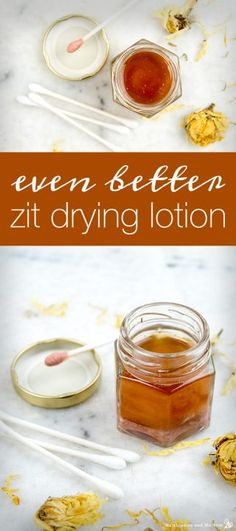 How to make even better zit drying lotion humblebee and me