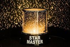 LED Sternenhimmel Projektor Star Master Nachtlicht Lampe