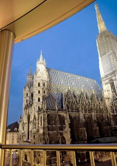 View from Room 300, Do & Co Hotel - Vienna, Austria