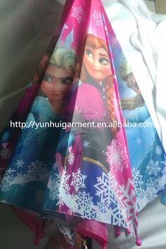 Frozen Anna and Elsa umbrella accessories Frozen Anna and Elsa Umbrella footwear frormm http://yunhuigarment.en.alibaba.com