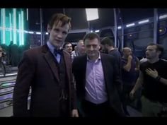 And if you contrast the two there's not much in it. | This Guy's Impression Of Doctor Who's Matt Smith Cannot Be Beaten