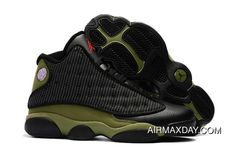cb42f253c56f98 Super Deals 2018 Air Jordan 13 Olive Black True Red-Light Olive