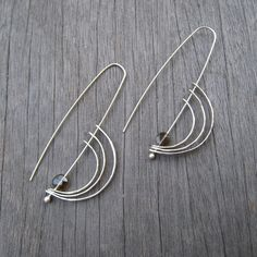 I love finding little gems like these earrings. So simple yet very different than a lot of other designs out there.