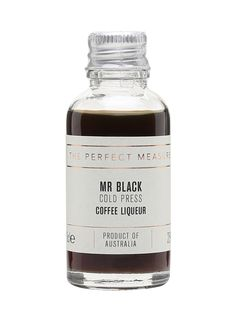 Mr Black Cold Press Coffee Liqueur Sample : The Whisky Exchange