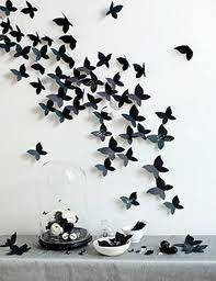 Wall art butterfly: DIY