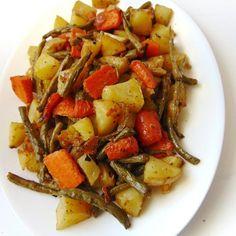 Verduras al horno con queso parmesano   Alternativa a la verdura hervida