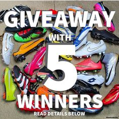 FIRST SUMMER GIVEAWAY !!  ( reminder) This is our First Summer giveaway. You can win any shoe you want and there is going to be 5 WINNERS !! - How to Enter:  1. Follow @ElationFootball  2. Like this picture  3. Tag 3 Friends in the comments below  4. Screen shot your comment and send it to me via Snapchat: @itsJosuePena ( CLICK THE LINK IN BIO ) -  Learn How to get extra entries by asking me HOW via Snapchat !!! - If we get MORE than 5000 likes and 200 comments we will do ANOTHER GIVEAWAY…