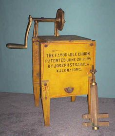 Favorable Butter Churn