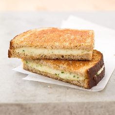 21 Reasons We Can't Live Without Cheese. Reason #1: Grown-Up Grilled Cheese Sandwiches with Gruyère and Chives.