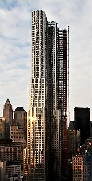8 Spruce Street, New York. Frank Gehry, architect.