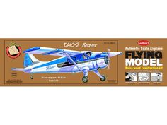 Paul K. Guillow, Inc. - DHC-2 Beaver My version will have floats!