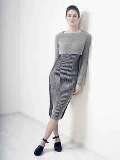 Stickad klänning Novita Nalle | Novita knits