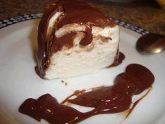 Pudim de claras malhado com chocolate - Ideal Receitas