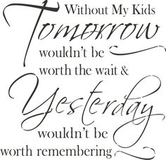 To all parents who are missing your children right now