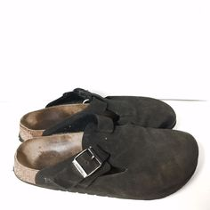 Birkenstock Betula leather size 9 sandals In used condition but still has life left Birkenstock Shoes Sandals