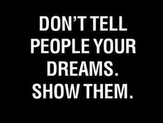 Dream Stealers: My answer.
