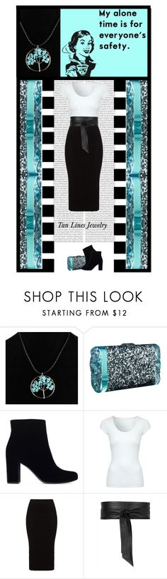 """Tan Lines Jewelry (39)"" by irresistible-livingdeadgirl ❤ liked on Polyvore featuring Edie Parker, Yves Saint Laurent, Jane Norman, Mat, Jaeger, skirt, YSL, turquoise, yvessaintlaurent and edieparker"