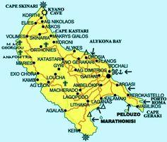 zakynthos map Ionian Islands GREECE Pinterest Greece trip