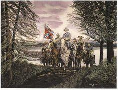 John Alger Civil War Print