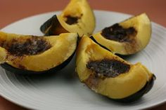 SLOW COOKER - from A Year of Slow Cooking: Acorn Squash CrockPot Recipe