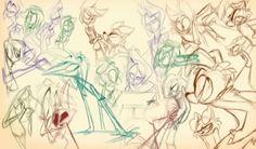 Vivziepop sketch sheet
