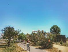 Fly & bike in #deltadelllobregat  #goodweek #bonasetmana #felizsemana