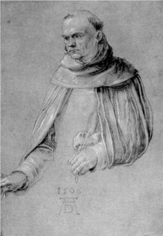 St. Dominic - Albrecht Durer