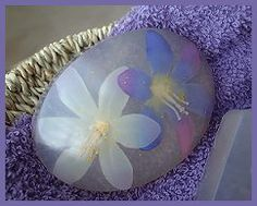 Embedded Flowers in Soap (Melt and Pour)