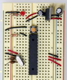 Simpler example - Building an Arduino on a Breadboard