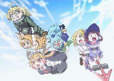Youjo Senki / Kemono Friends / Kobayashi-san Chi no Maid Dragon / Kono Subarashii Sekai ni Shukufuku wo! 2 / Demi-chan wa Kataritai / Little Witch Academia (TV) BloodSooul Anime Paw Collective