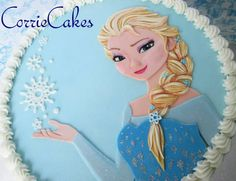 Frozen Fondant, Frozen Cake, Girl Cakes, Little Ones, Disney Characters, Fictional Characters, 1, Girly, Facebook
