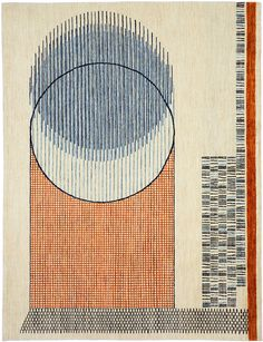 Gorgeous Bauhaus inspired rug by Christopher Farr