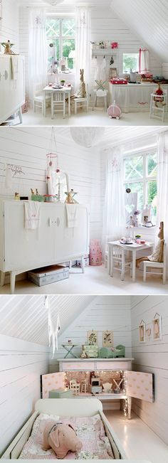 Girly and Whimsical Nursery @Layla Grayce