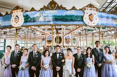 A fun and fabulous wedding party