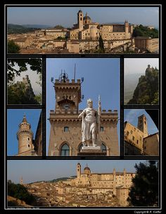 San Marino - Urbino...San Marino, officially Serenissima Repubblica di San Marino, is a country situated on the eastern side of the Apennine Mountains. It is a landlocked enclave, completely surrounded by Italy.