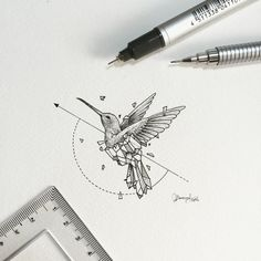 Geometric beasts bird