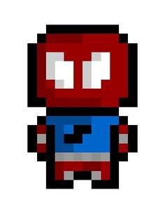 """Ben Reilly aka """"The Scarlet Spider"""", one of Peter Parker's many clones and a major player in the infamous Clone Saga."""