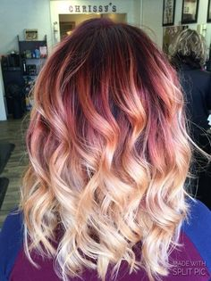 49 variations in blonde hair colors to use in 2019 00075 Blonde Ombre Hair, Best Ombre Hair, Brown Ombre Hair, Ombre Hair Color, Burgundy Blonde Hair, Grey Balayage, Balayage Hair, Haircolor, Hair Color And Cut