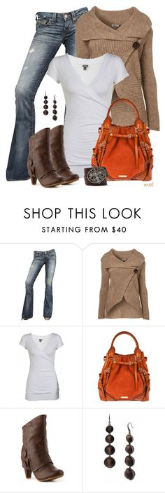 """""""Buckle Up"""" by michelled2711 ❤ liked on Polyvore featuring True Religion, WalG, Burberry, Not Rated and MICHAEL Michael Kors"""