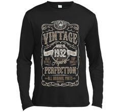 Vintage Made In 1932 Birthday Gift Idea T Shirt