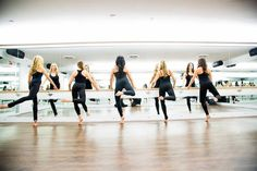 5 reasons why 2015 is the year of the barre With nearly 700 barre studios across the country, barre is poised to join the fitness big leagues. Here's the 411 on why the workouts have become so incredibly popular. Pilates Barre, Ballet Barre, Pilates Studio, Barre Body, Cardio Yoga, Bar Method, Bright Background, Fitness Studio, Fun Workouts