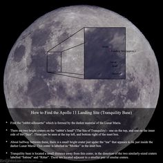 Ever Want to Find the Apollo 11 Landing Site? It's probably easier than you think :-)
