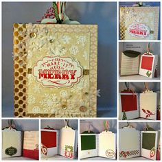 Scrapbook Junkies: Holiday Organizer and Photo Book with Hip Pics Album