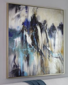 """Vanity"" Abstract Giclee at Horchow."